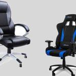 sedia gaming vs ufficio